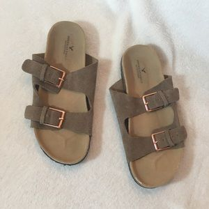 American Eagle Two Strap Sandals size 7